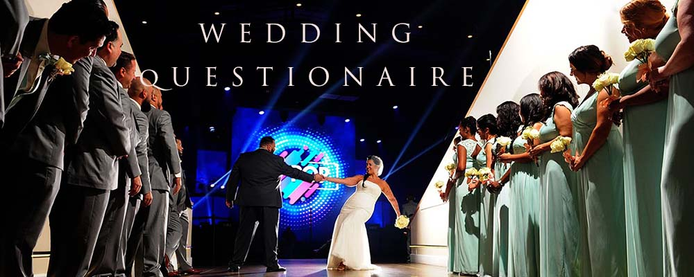 Wedding Questionaire 1