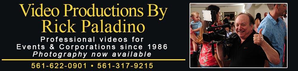 Videographer | Rick Paladino | South Florida Video 1